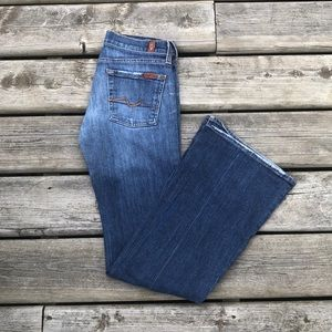 7 For All Mankind Flare Bootcut Flare Jeans 25